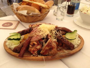 belgrade serbian traditional main course