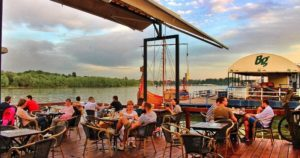 belgrade coffee river danube donau sava