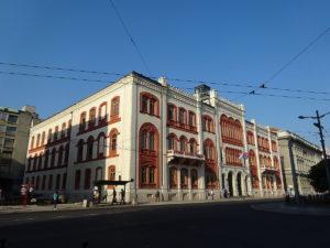 belgrade university building