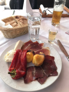 belgrade serbian traditional appetizer