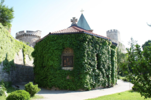 belgrade church of the holy mother of god crkva ruzica kalemegdan