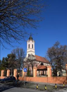 belgrade holy trinity church zemun crkva svete trojice