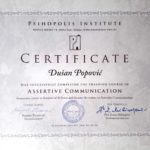 assertive communication coach certificate psihopolis institute education counseling life couch