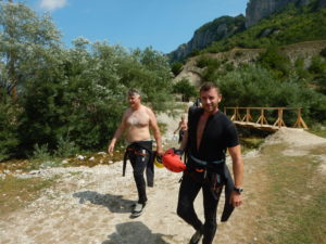 summer booking accommodation tours canyoning nevidio canyon savnik town zabljak mountain durmitor montenegro