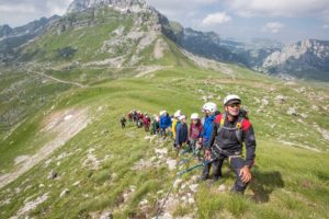 summer booking accommodation tara bridge canyon zip lining line town zabljak mountain durmitor montenegro
